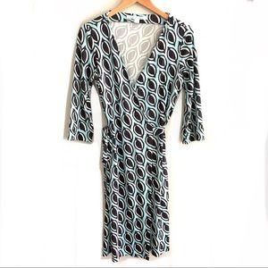 Diane von Furstenberg New Julian Wrap Dress 10